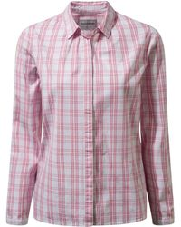 Craghoppers - Pink Candelo Shirt - Lyst