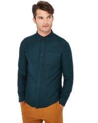 Red Herring - Green Long Sleeve Slim Fit Shirt - Lyst