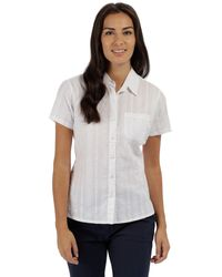 Regatta - White 'jerbra' Short Sleeved Shirt - Lyst