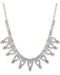 Red Herring - Aurora Borealis Diamante Necklace - Lyst