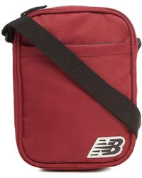 New Balance - Dark Red Cross Body Bag - Lyst