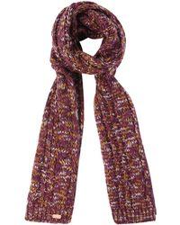 Regatta - Purple 'frosty' Knit Scarf - Lyst