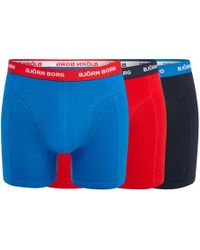Björn Borg - Pack Of Three Assorted Trunks - Lyst