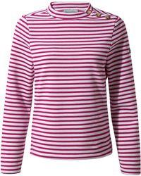 Craghoppers - Pink Balmoral Crew Neck Sweatshirt - Lyst