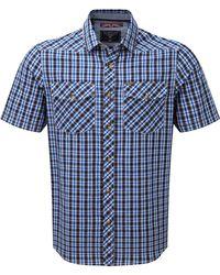Tog 24 - Ocean Check Oliver Tcz Cotton Shirt - Lyst