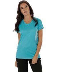 Regatta - Blue 'volito' Technical T-shirt - Lyst