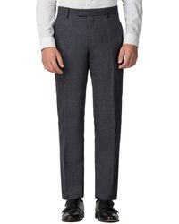 Ben Sherman - Charcoal Speckle Tailored Fit Trouser - Lyst