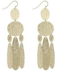 J By Jasper Conran - Designer Textured Chandelier Earrings - Lyst