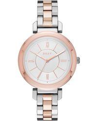 DKNY - Ladies Ellington Rose Gold Watch - Lyst
