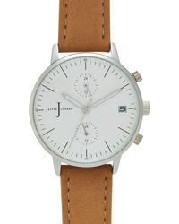 J By Jasper Conran - Ladies' Natural Chronograph Watch - Lyst