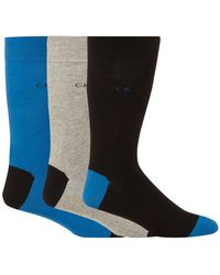Calvin Klein - Pack Of Three Assorted Socks - Lyst