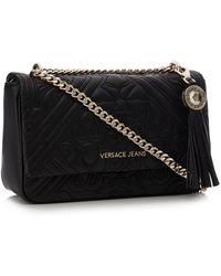 18b56128c74f Versace Jeans Logo Pouch Cross Body Bag in Black - Lyst