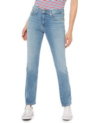 Levi's - Blue Light Wash '314' Shaping Straight Jeans - Lyst
