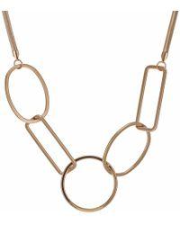 J By Jasper Conran - Designer Geometric Shape Necklace - Lyst
