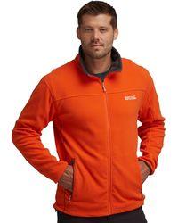 Regatta - Orange/grey Stanton Ii Fleece - Lyst