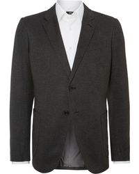 Armani Solid Slim Fit Jacket - Lyst