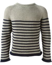 Jean Paul Gaultier Lurex Matelot Sweater - Lyst