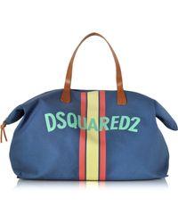 DSquared² | James Canvas Logo Duffle Bag | Lyst