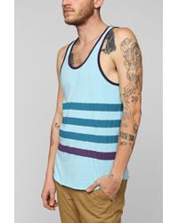 BDG | Placed Stripe Tank Top | Lyst