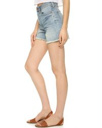 Madewell - Perfect Summer Shorts - Light Wash - Lyst