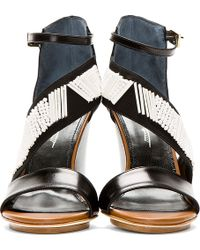 Maiyet - Embellished Strappy Wedge Sandal - Lyst
