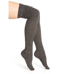 CALVIN KLEIN 205W39NYC - Boucle Over The Knee Socks - Lyst