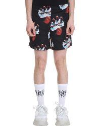 MISBHV Razor Viscose Shorts - Black
