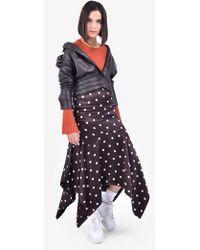 Ganni - Leather Jacket - Lyst
