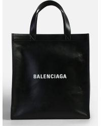 Balenciaga - Shopper Leather Bag - Lyst