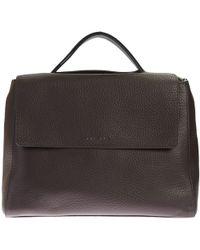 Orciani - Leather Sveva Big Bag - Lyst