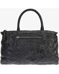 1a7bb13ea2 Givenchy Black Polyvinyl Medium Pandora Bag in Black - Lyst