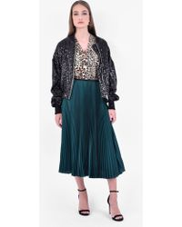 Amen - Sequinned Bomber Jacket - Lyst