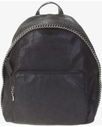Stella McCartney - Falabella Shaggy Deer Faux Leather Backpack - Lyst