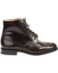 Church's - Renwick Leather Polacco Boots - Lyst