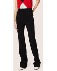 Derek Lam - High-waisted Flare Pant With Topstitch Detail - Lyst