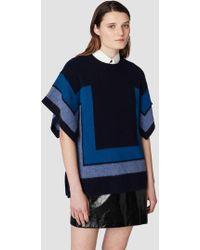 10 Crosby Derek Lam - Short Sleeve Blanket Sweater - Lyst