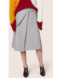 Derek Lam - Wrap Saddle Skirt - Lyst