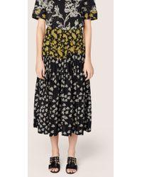 Derek Lam - Pleated Skirt With Foldover Waist Detail - Lyst