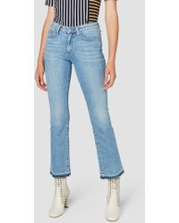 10 Crosby Derek Lam - Gia Mid-rise Cropped Flare - Lyst
