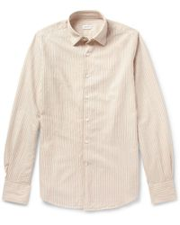 Incotex Glanshirt Slimfit Striped Cotton Shirt - Lyst