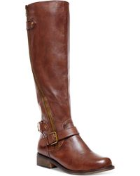 Steve Madden Womens Synicle Widecalf Tall Boots - Lyst