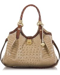 Brahmin Elisa Leather Hobo Bag - Lyst