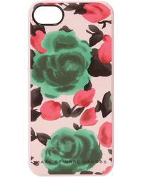 Marc By Marc Jacobs Glossy Jerrie Rose Phone Cases - Lyst