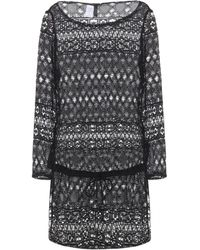Polo Ralph Lauren Crocket-Knit Cover-Up - Lyst