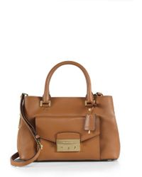 MICHAEL Michael Kors Haley Medium Satchel - Lyst
