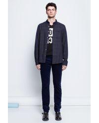 Zadig & Voltaire Man Shirt Tao Carreau - Lyst