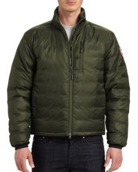 Canada Goose toronto sale fake - Canada goose Lodge Jacket in Blue for Men (Pacific Blue) | Lyst