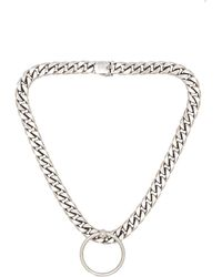 Luv Aj Ring Of Fire Statement Necklace - Lyst