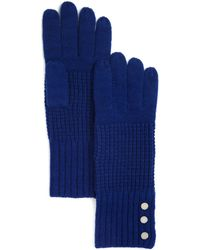 Michael Kors - Waffle Stitch Gloves - 100% Bloomingdale's Exclusive - Lyst