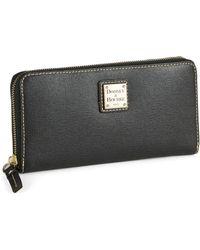 Dooney & Bourke Zip Around Wallet - Lyst